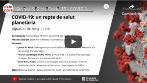 Covid-19, un repte de salut planetària